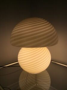 Vintage Murano Table Lamp-Lampe Murano Vintage 1960-70