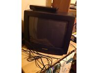 Sharp portable tv and Phillips free view box all in excellent working order