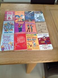 Variety of young girls books (12 in total)