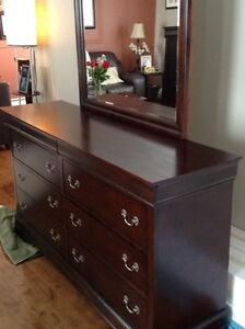 60 inch dresser and 36 inch chest of drawers