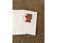 Hand made care bear cards