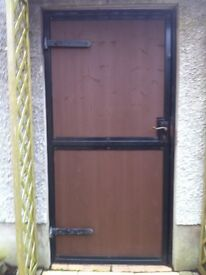 Back Gate. 70.5 inches X 34inches