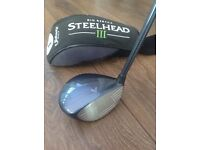Callaway Big Bertha Steelhead III driver, excellent condition £20