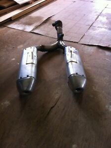 2013-2016 crf 450 dual exhaust