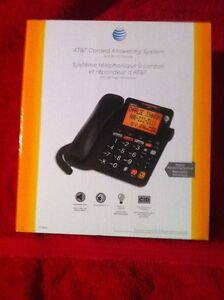 AT and T Corded Phone Answering Machine.