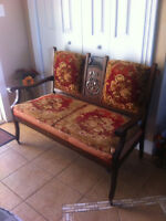 Antique LoveSeat and Matching Chair