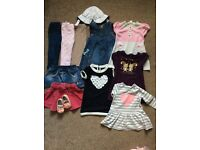 Baby girl clothes size 6-9 months
