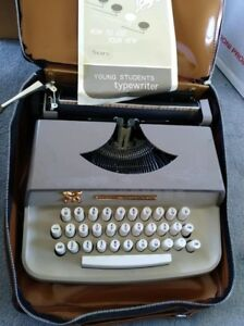 Antique Vintage 1968 Sears Portable Typewriter