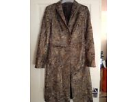 LADIES FORMAL DRESS COAT ( Massimo Dutti ) Size 8-10