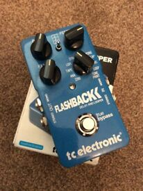 tc electronic FlashBack DELAY AND LOOPER for sale