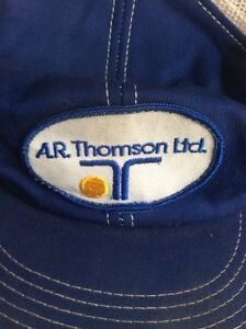 A.R. THOMSON LIMITED company cap