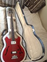 Gibson midtown bass Chery red