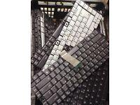 Laptop keyboard job lot of 30 pieces