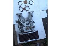 Webber carburettor
