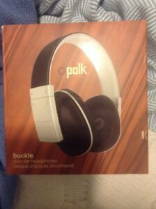Polk over ear headphones