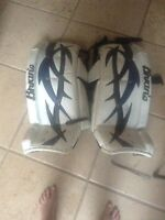 Brian's razor limited edition goalie pads open to trades