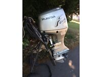 Honda outboard 45 hp long shaft power tilt trim