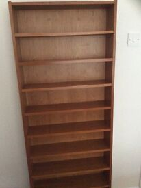 Lovely teak c.d. Storage rack.holds 500 c.d. MUST GO !