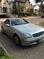 2002 Mercedes-Benz SLK-320 All available options* Convertible