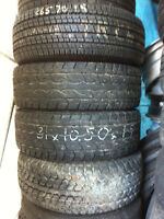 """JeeP Time !  Used  tires & Rims13/14/15/16/17/18"""" (514) 991-3317"""