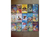 Selection of Childrens VHS videos - Job Lot
