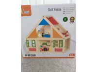 Viga wooden dolls' house - brand new unopened.