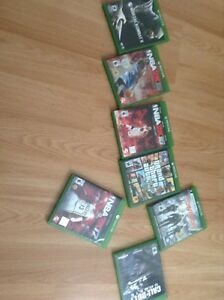 Xbox One Mint With games