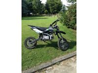 Stomp pitbike 140cc big frame like new! Very fast and well cared for