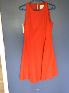 Kate Spade red sleeveless dress. Beautiful and worn once