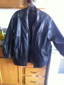 UNISEX Danier Leather Jacket Detach Thinsulate lining Size P/P