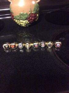 NHL  collectable hockey rings contact if interested  St. John's Newfoundland image 1