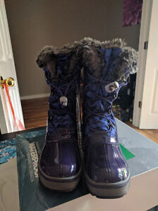 Girls Size 6 (Youth) Cougar Waterproof Winter Boots, New in Box London Ontario image 7