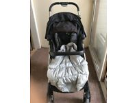 Buggy foldable pushchair