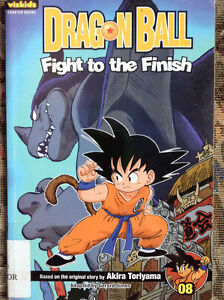 Dragon Ball: Chapter Book, Vol. 8: Fight to the Finish!