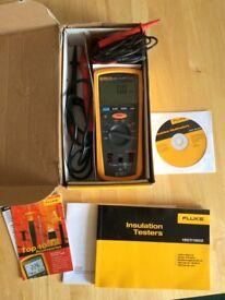 Fluke 1507 insulation tester and multimeter.