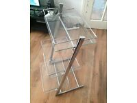 3 SHELF GLASS UNIT