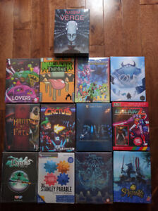 IndieBox Collection. 13 Rare Sealed Games!
