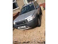 Lard Rover Freelander Td4