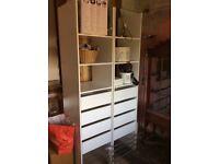 Wardrobe shelving system