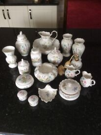 AYNSLEY CHINA - WILD TUDOR