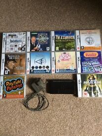 Nintendo DS Lite with 10 Games