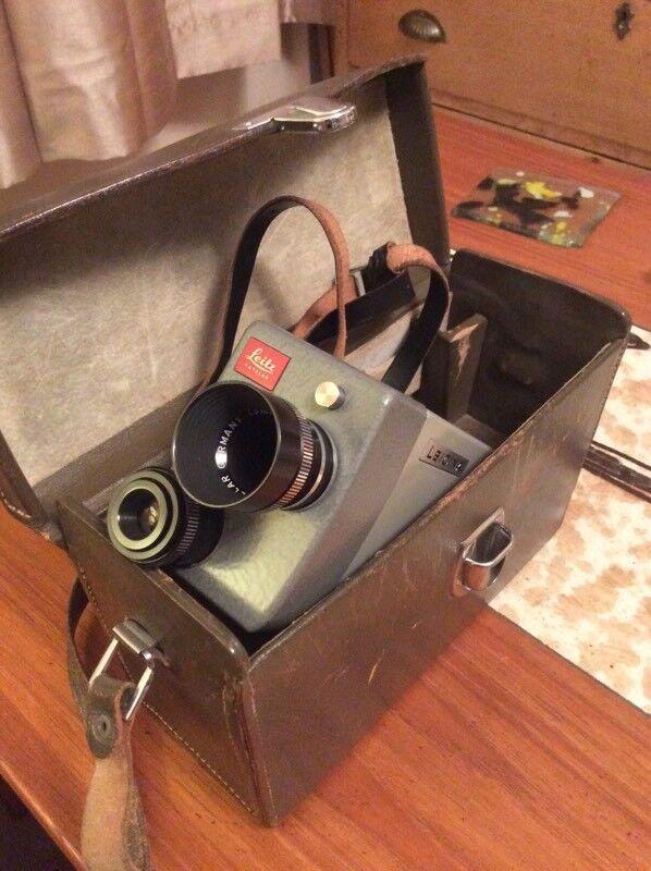 Leitz (Leica) Leicina 8S 8mm (double 8) film
