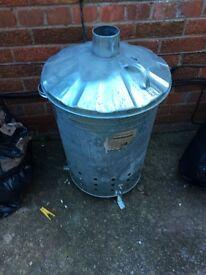Metal incinerator
