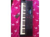 Casio ht700 synth with ra100 memory card