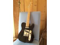 Fender Japan Telecaster, black and pint-sized