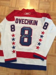 Alexander Ovechkin Signed Jersey