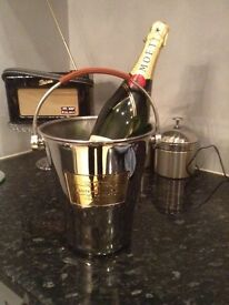 Laurent p champagne bucket cost £100!