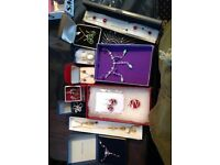 A large selection of costume & vintage jewellery
