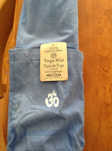 Relaxus organic cotton yoga mat Cambridge Kitchener Area image 1