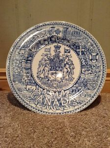Wood & Sons antique Canada coat of Arms plate--made in England Kitchener / Waterloo Kitchener Area image 1